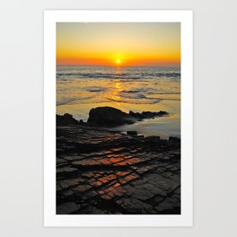 exhale and wave goodbye to the day Art Print