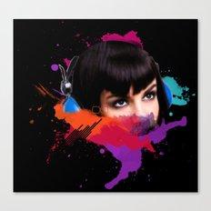sexy stereo::famke Canvas Print