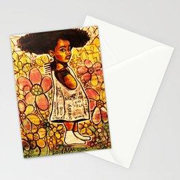 2014 Intelligent Black Child ( never let your oppressor judge you ) Stationery Cards