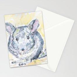 Chinchilla portrait Stationery Cards