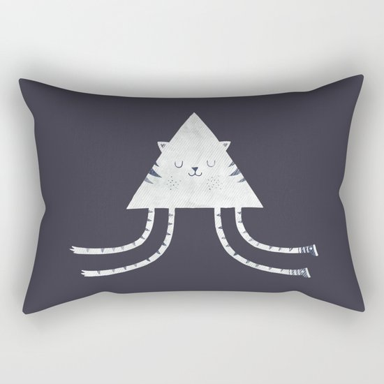 Emily's Kitty Rectangular Pillow