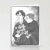 smiths Stationery Cards featuring Sherlock as The Smiths by Stitchy