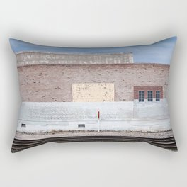 The Railroad Yard - Suicide Alley Rectangular Pillow