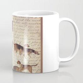 English country foxhunt print Coffee Mug