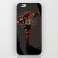 harley iPhone & iPod Skins featuring Harley! by Katia Grifols