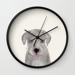little great dane Wall Clock