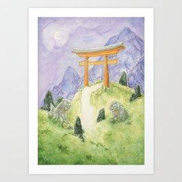 Torii Portal Art Print