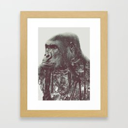/ habitat / Away Framed Art Print