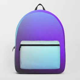 Turquoise Purple Gray Ombre Backpack