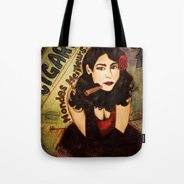 Cigares Tote Bag