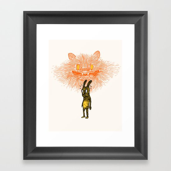 Scared Stiff Framed Art Print