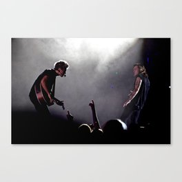 Niall Horan and Harry Styles on Stage Canvas Print