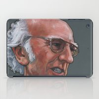 larry stylinson iPad Cases featuring Larry David by Micah Krock