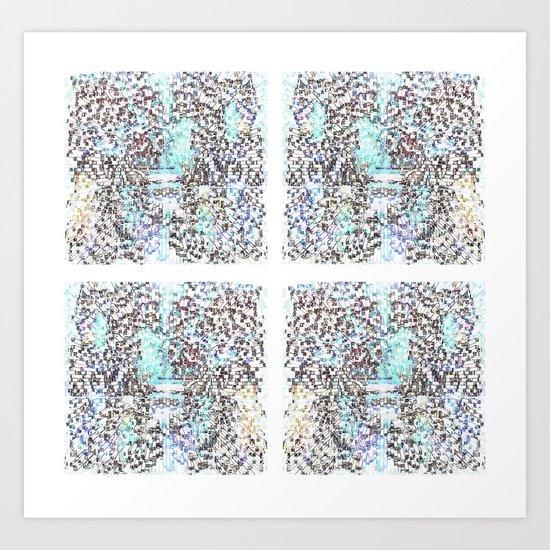 Abstrusion 1 Art Print