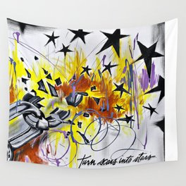 Turn Scars To Stars... Wall Tapestry