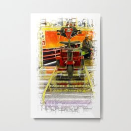 Trollied Metal Print