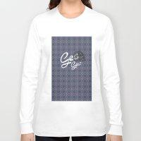 geo Long Sleeve T-shirts featuring GEO  by NENE W