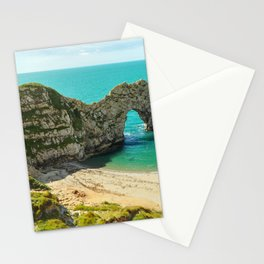The Durdle Door, Lulworth, Dorset, United Kingdom Stationery Cards