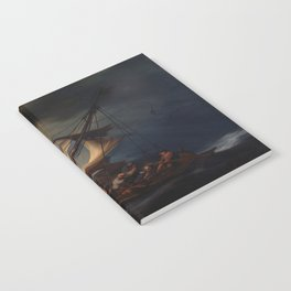 Rembrandt's The Storm on the Sea of Galilee Notebook