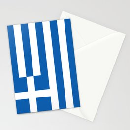 Flag of Greece, High Quality image Stationery Cards