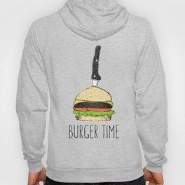 Burger Time sketch Hoody