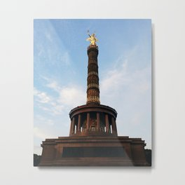 Berlin Victory Column Metal Print