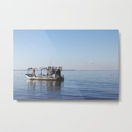 The Fisherman. Metal Print