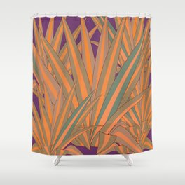 Colorful Agaves Shower Curtain