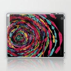 pattern - spaghettis spiral Laptop & iPad Skin