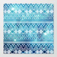Tribal Ice Canvas Print