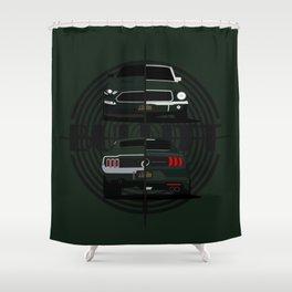 Bullitt generations Shower Curtain