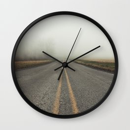 Low Views Wall Clock