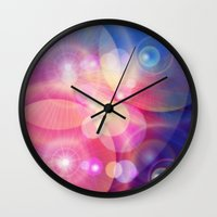 the lights Wall Clocks featuring lights by haroulita