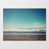 west coast Canvas Prints featuring West Coast II by Hannah Kemp