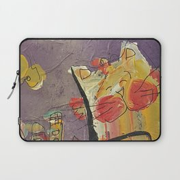 Cat in the city Laptop Sleeve