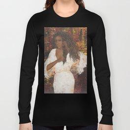 Brazilian Girl in Night Gown Long Sleeve T-shirt