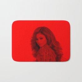 Zendaya - Celebrity (Florescent Color Technique) Bath Mat