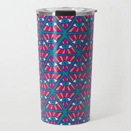 Ethnic psychedelic 2 Travel Mug