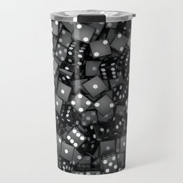 Black dice Travel Mug