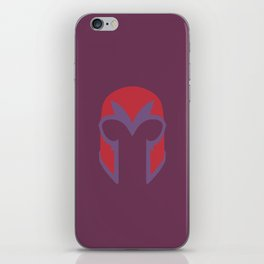 Magneto Helmet iPhone Skin