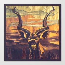 Antilope / Antelope Canvas Print