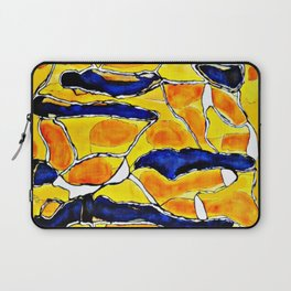 The Sun Also Rises. Society6. Watercolor. Abstract. Laptop Sleeve