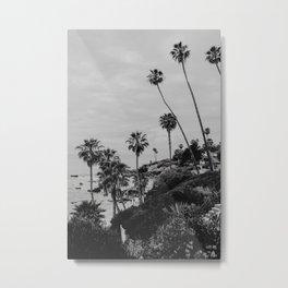 Laguna Beach Black&White | Fine Art Travel Photography Metal Print