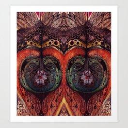 Dreamcatchers Art Print
