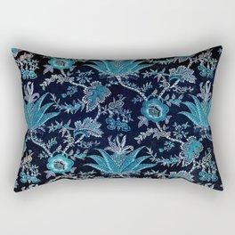 Floral Fabric Vintage Gift Pattern #8 Rectangular Pillow