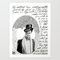 Part #3 - One Heart Dancing Art Print