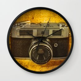 Rank Mamiya Rangefinder Wall Clock