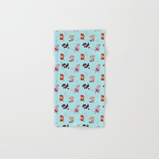 Zombie Cats Hand & Bath Towel