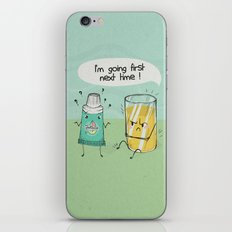 I'm going first iPhone & iPod Skin