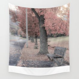 Candy Bench Wall Tapestry